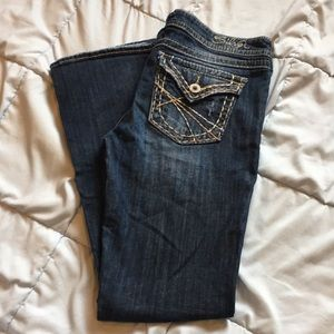 Silver Pioneer Bootcut Jeans